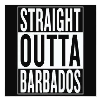 straight outta Barbados Card