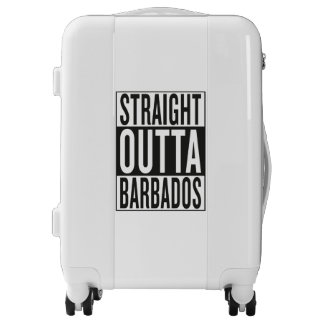 straight outta Barbados Luggage