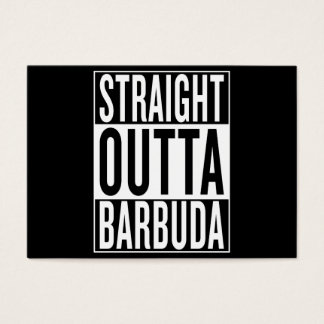 straight outta Barbuda Business Card