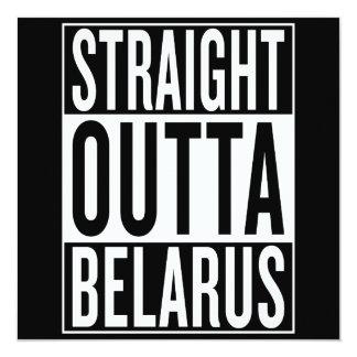 straight outta Belarus Card