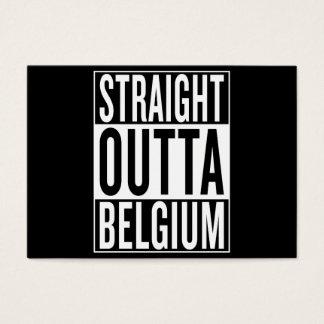 straight outta Belgium Business Card