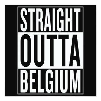 straight outta Belgium Card