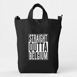 straight outta Belgium Duck Bag