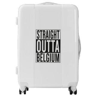 straight outta Belgium Luggage