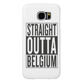 straight outta Belgium Samsung Galaxy S6 Case