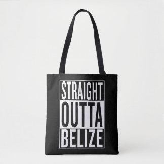straight outta Belize Tote Bag
