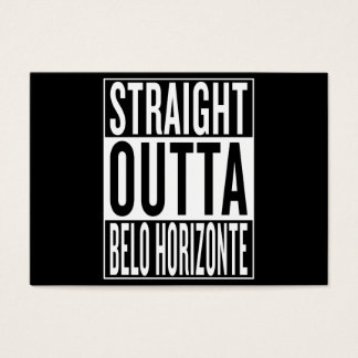 straight outta Belo Horizonte Business Card