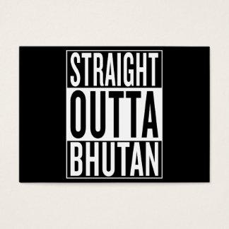 straight outta Bhutan Business Card