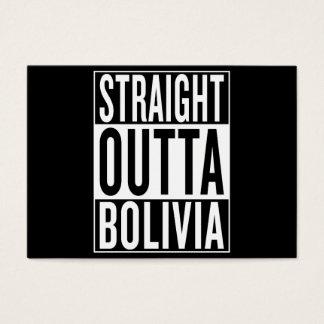straight outta Bolivia Business Card