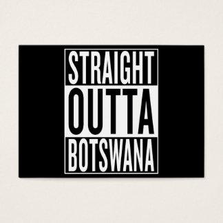 straight outta Botswana Business Card
