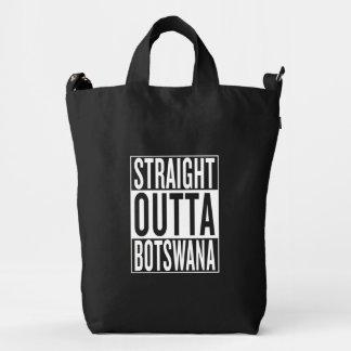 straight outta Botswana Duck Bag