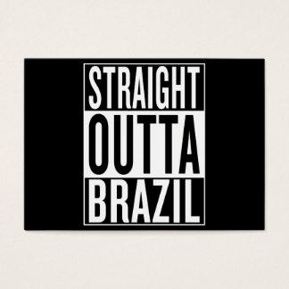 straight outta Brazil Business Card