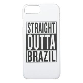 straight outta Brazil iPhone 7 Case