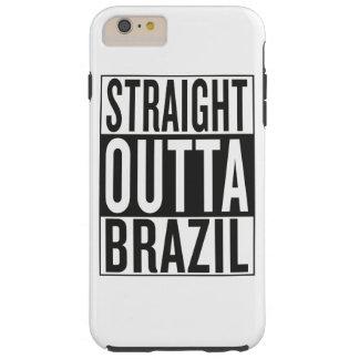 straight outta Brazil Tough iPhone 6 Plus Case