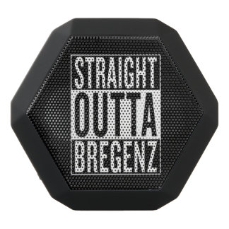 straight outta Bregenz Black Bluetooth Speaker