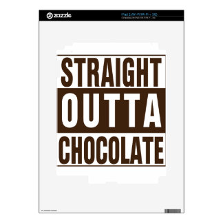Straight Outta Brown Chocolate Decal For The iPad 2