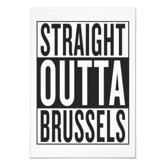 straight outta Brussels Card