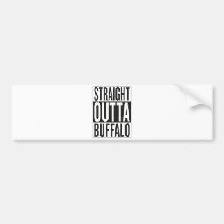 straight outta Buffalo Bumper Sticker