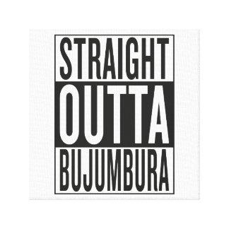 straight outta Bujumbura Canvas Print