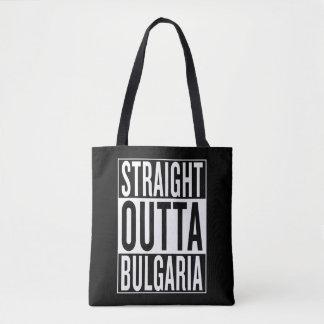 straight outta Bulgaria Tote Bag