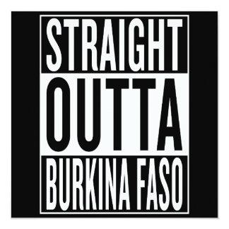 straight outta Burkina Faso Card