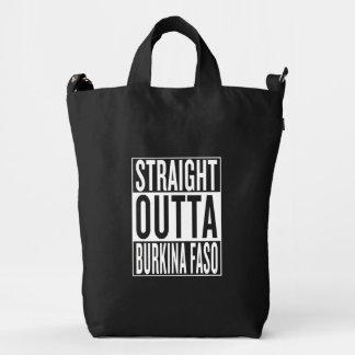 straight outta Burkina Faso Duck Bag