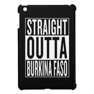 straight outta Burkina Faso iPad Mini Cases