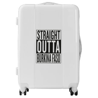 straight outta Burkina Faso Luggage