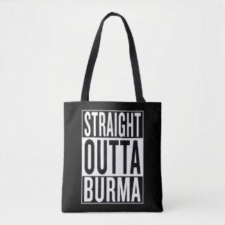 straight outta Burma Tote Bag