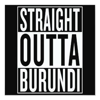 straight outta Burundi Card