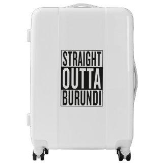 straight outta Burundi Luggage