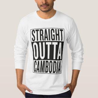 straight outta Cambodia T-Shirt
