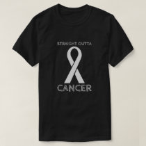Straight Outta Cancer - Cancer Free T-Shirt