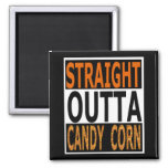 Straight Outta Candy Corn Funny Halloween Magnet