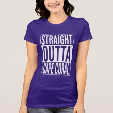 USA Themed straight outta Cape Coral T-Shirt