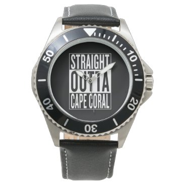 USA Themed straight outta Cape Coral Watch