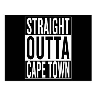 straight outta Cape Town Postcard