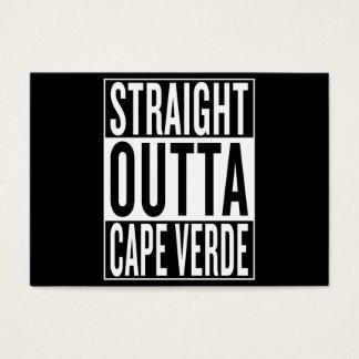 straight outta Cape Verde Business Card
