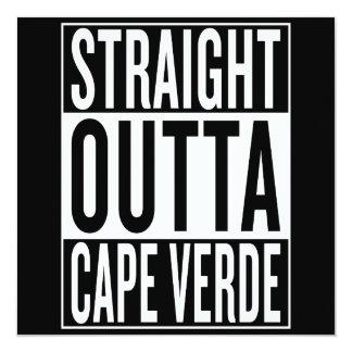 straight outta Cape Verde Card