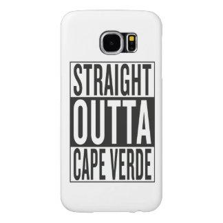 straight outta Cape Verde Samsung Galaxy S6 Case