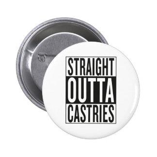 straight outta Castries Pinback Button