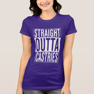 straight outta Castries T-Shirt