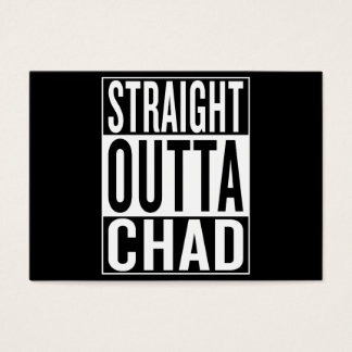 straight outta Chad Business Card