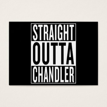 USA Themed straight outta Chandler Business Card