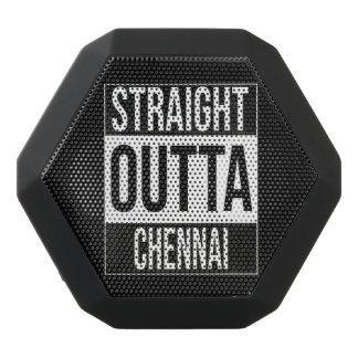 Straight Outta  Chennai, #Chennai Black Bluetooth Speaker
