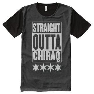 STRAIGHT OUTTA CHIRAQ (CHICAGO STARS) All-Over PRINT SHIRT
