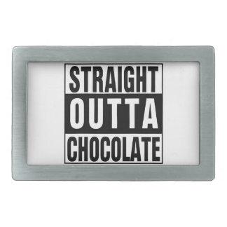 Straight Outta Chocolate Belt Buckle