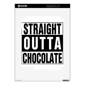 Straight Outta Chocolate Decal For The iPad 2