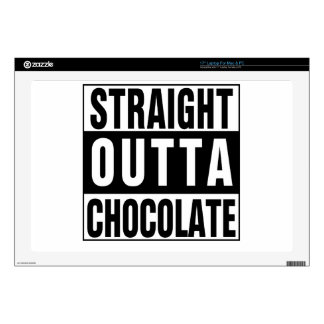 """Straight Outta Chocolate Skin For 17"""" Laptop"""