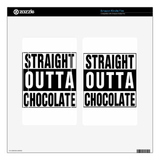Straight Outta Chocolate Skin For Kindle Fire